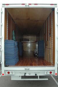 empty moving van